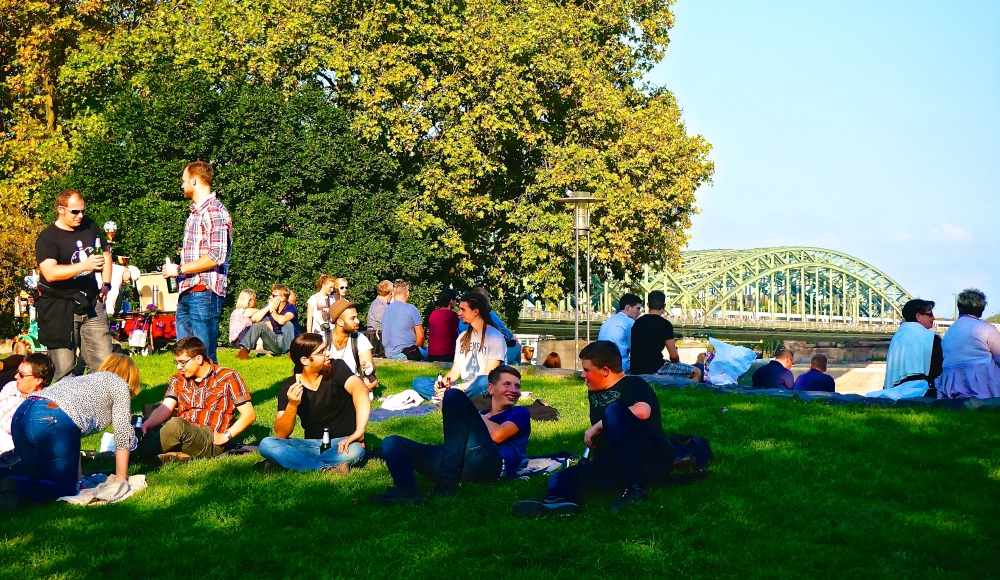 Enjoying the last weeks of  sunny Cologne as Fall and Winter approaches...